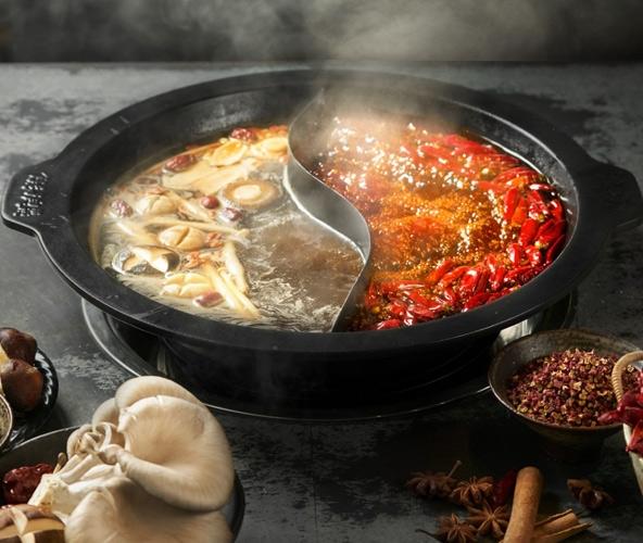 串串菌汤鸳鸯锅底